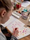 Watercolor Lettering Workshop in Hamburg - presented by Nadja Dünnwald Events