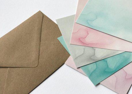 Lettering Karten zum selbergestalten, DIY Handlettering