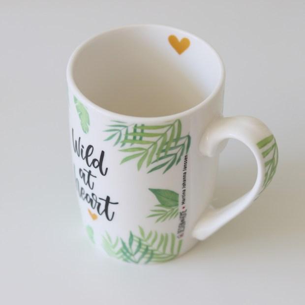 Wild at heart Tasse / Becher // Geschenkartikel von Design@home