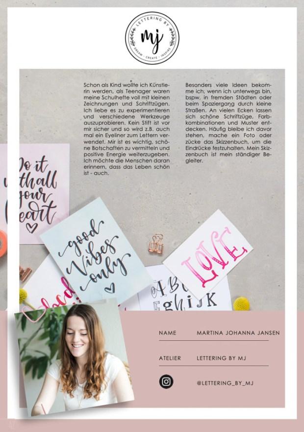 Design@Home Katalogseite über Martina Johanna