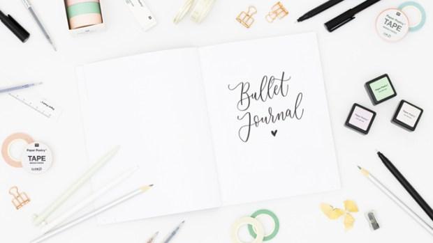 Bullet Journal Beispiel