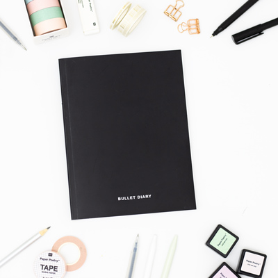 BuJo starten Material Notebook