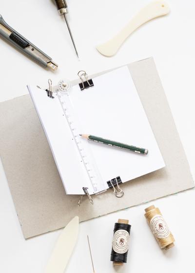 DIY Lettering Skizzenheft Anleitung, Schritt 3