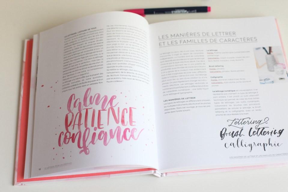 lettering aquarelle