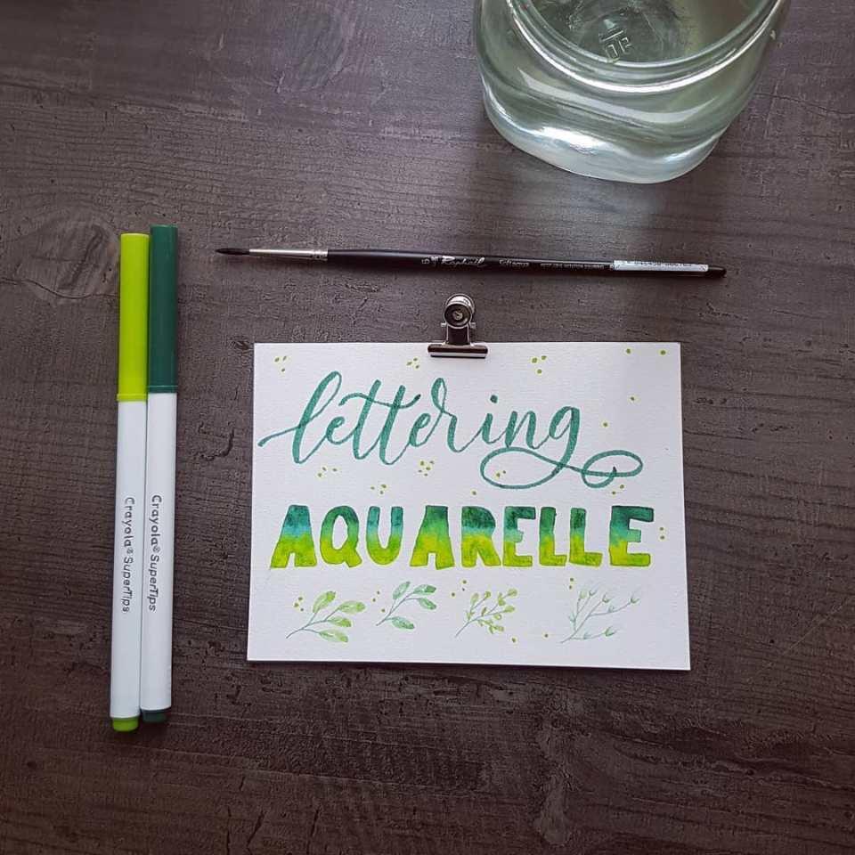 formations de lettering en ligne