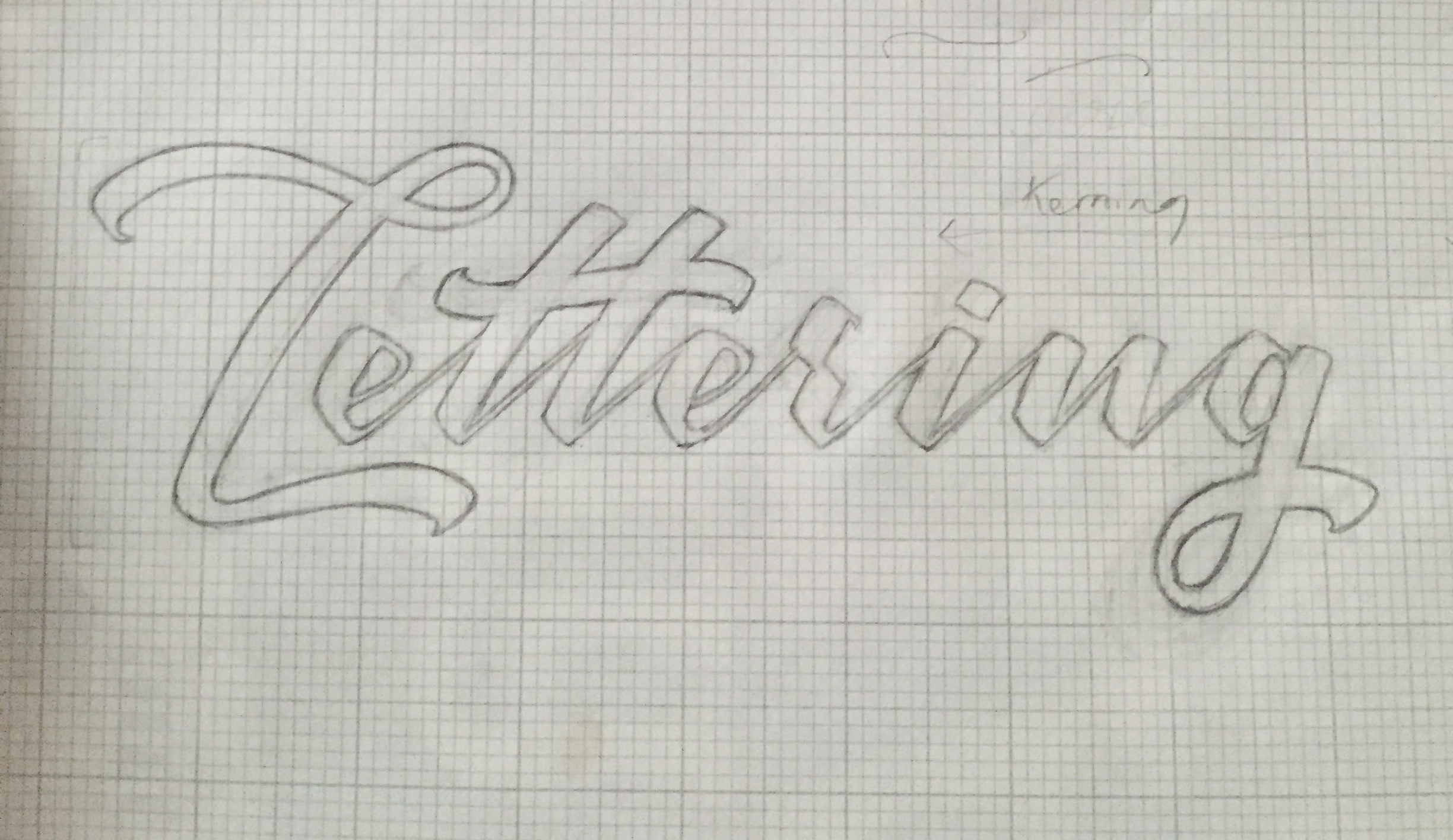 Lettering Tutorial Logo L Refinement