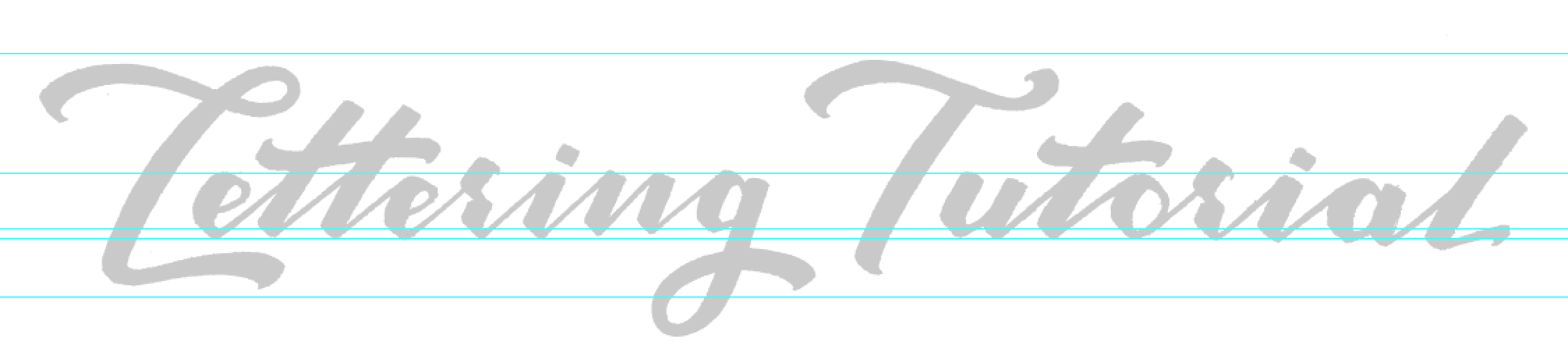 Lettering Tutorial Logo Live Trace