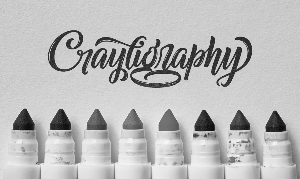 Colin Tierney Crayligraphy - Lettering Tutorial