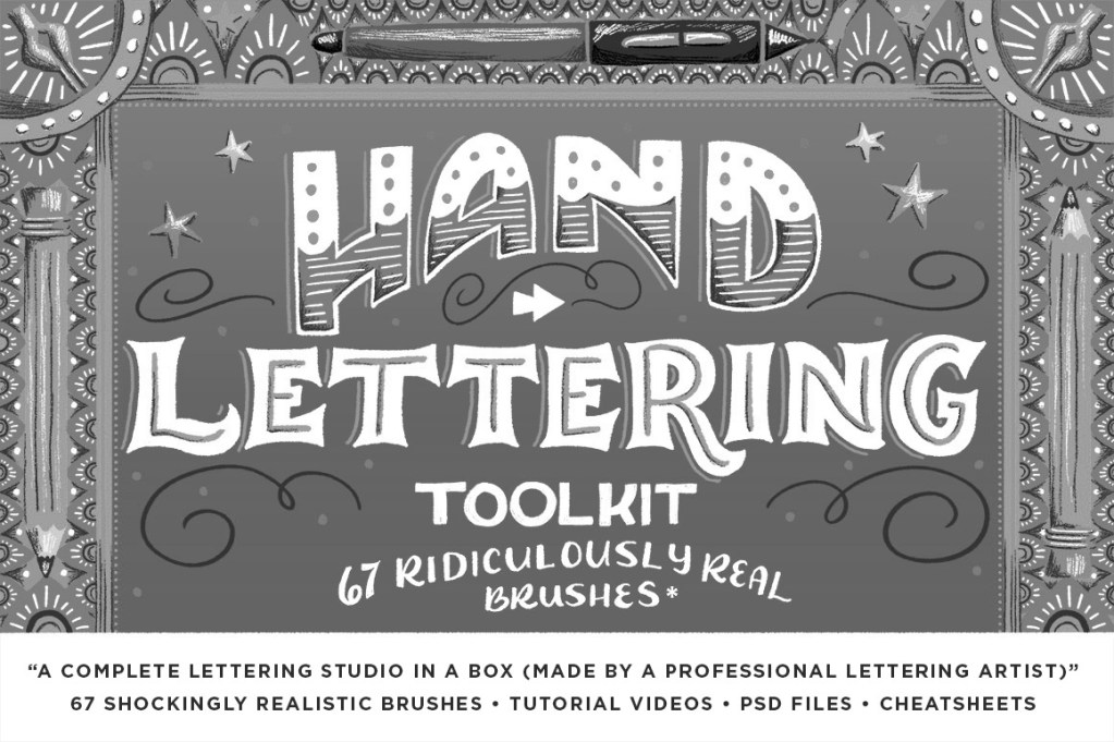 Hand Lettering Toolkit Shauna Lynn Panczyszyn Retro Supply Co - Lettering Tutorial