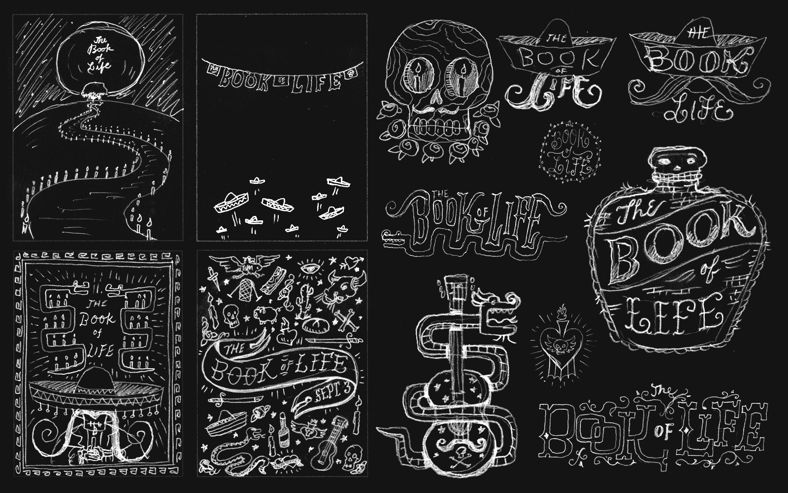 Jon Continuo Book of Life - Lettering Tutorial