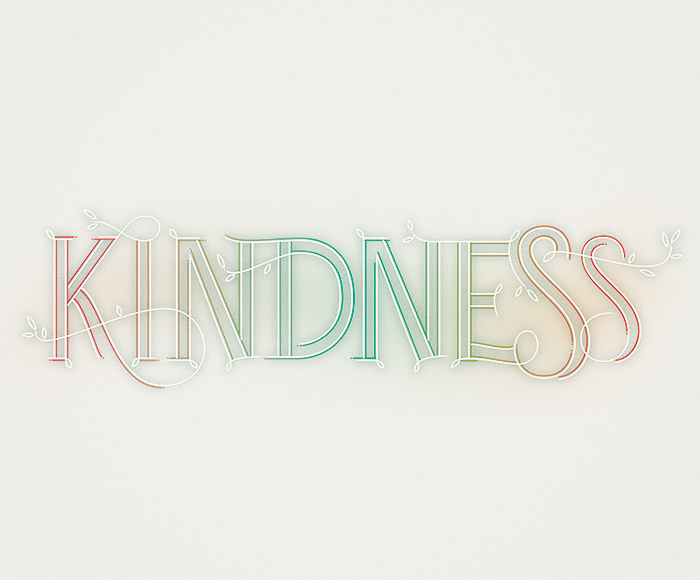 Kindness Martina Flor - Lettering Tutorial