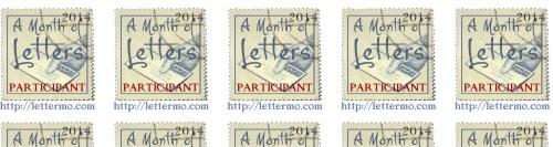 2015 LetterMo Participant Stickers.