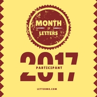 Month of Letters Participant badge