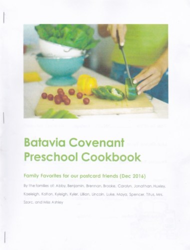 Cookbook from the kids and families