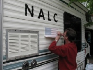 lettering the Rv
