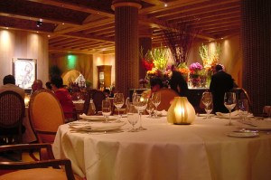 Grand opening of restaurant