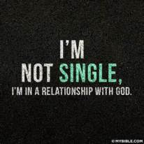 single-relationship-with-god