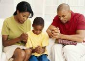 family-pray