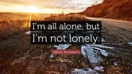 lonely not alone