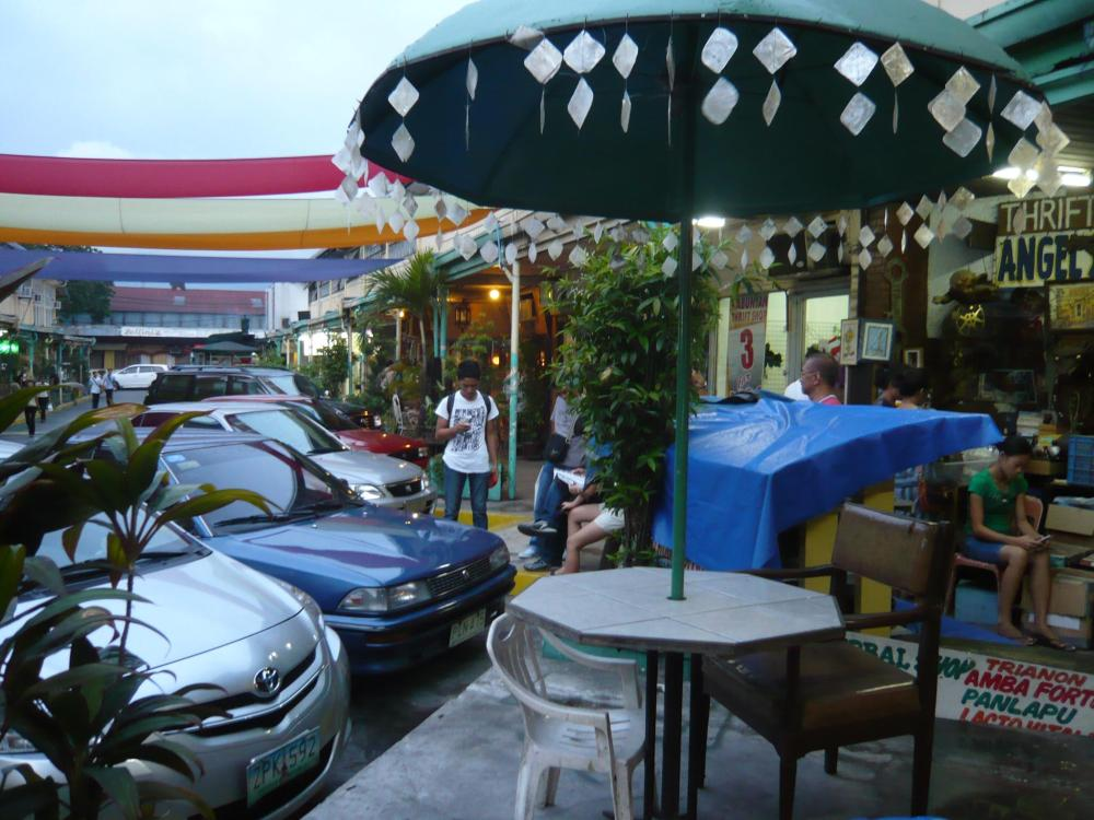 Sidetrip:  Mang Jimmy's, UP Diliman and Cubao Expo (4/6)