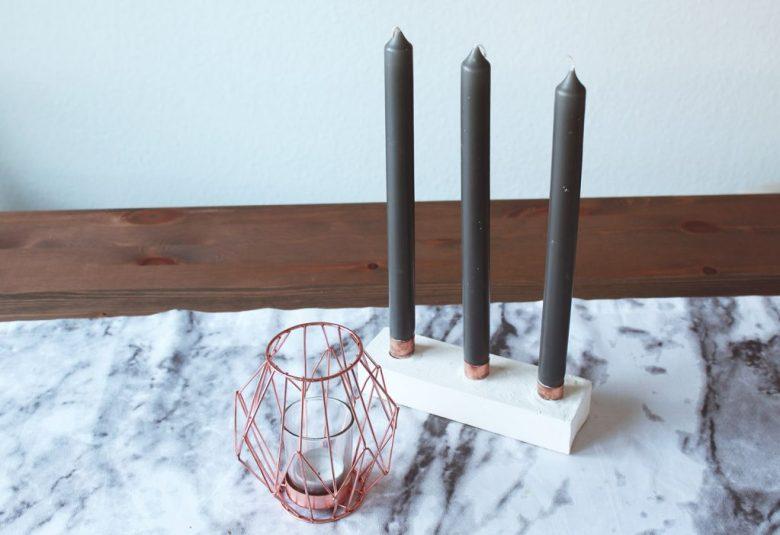 letters&beads-Kerzenhalter-Gips-einsetzen