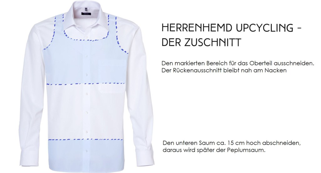 Letters and beads-fashion-nachhaltige_mode_1_euro_peplumtop_upcycling_herrenhemd