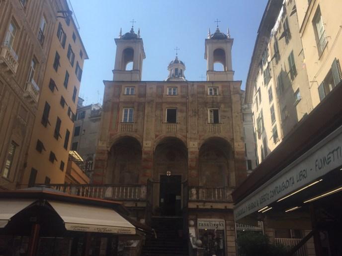 Chatedral, Genoa