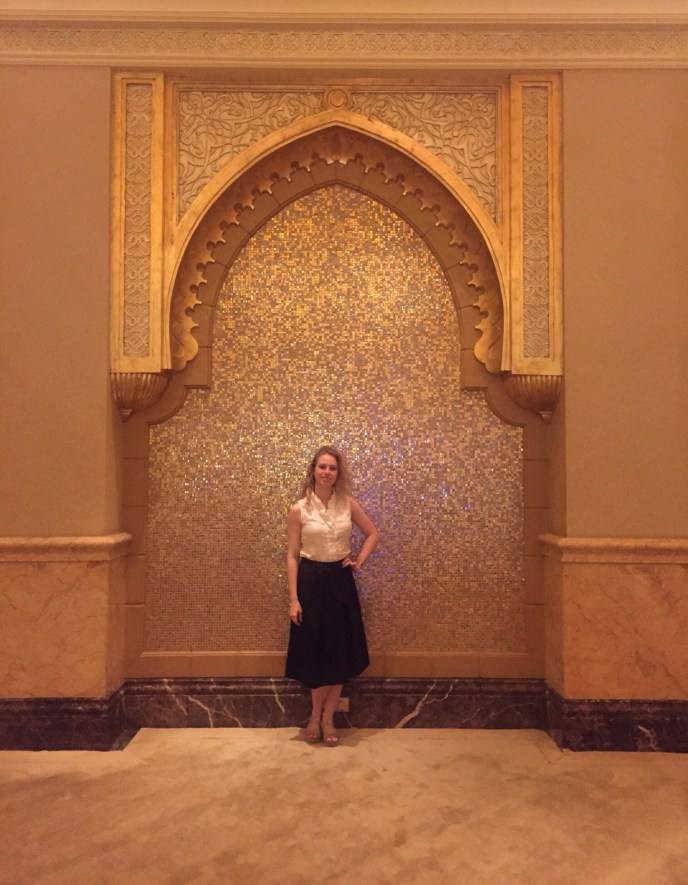 Nice outfit for Emirates Palace