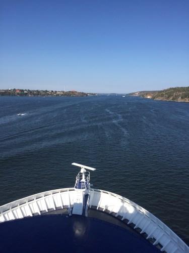 ship front in stockholm