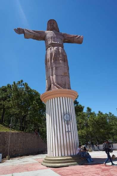 Jesus Statue on Taxco