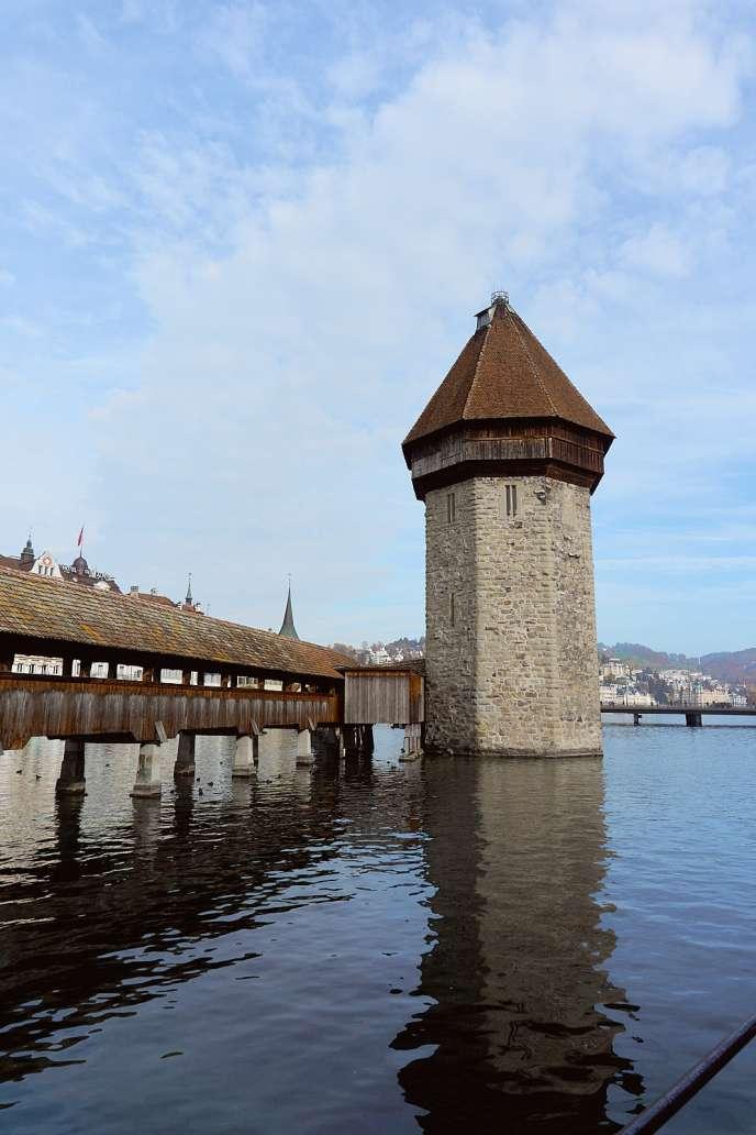 Kapellbridge in Luzern