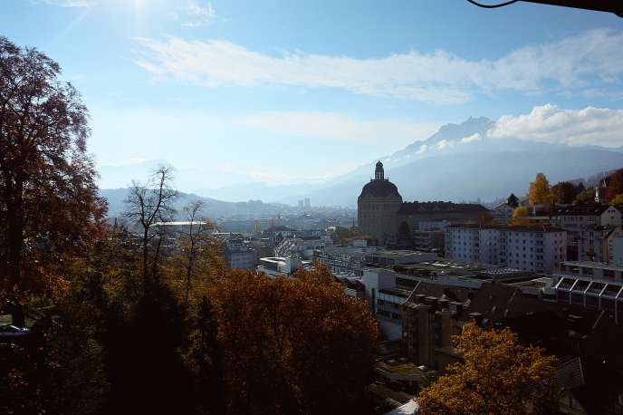 view over Luzern
