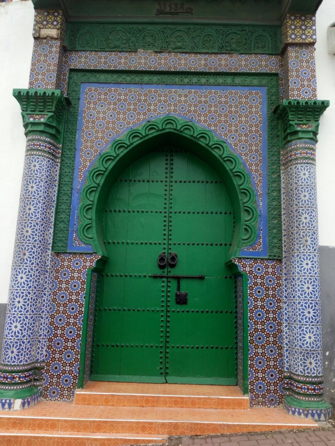 door in tangier morocco
