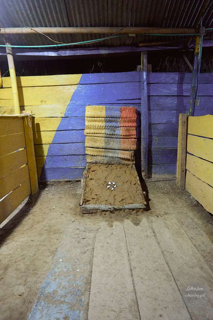 tejo game in salento colombia