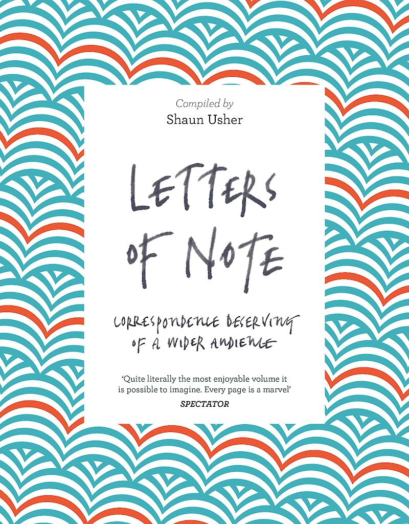 Letters of Note cover
