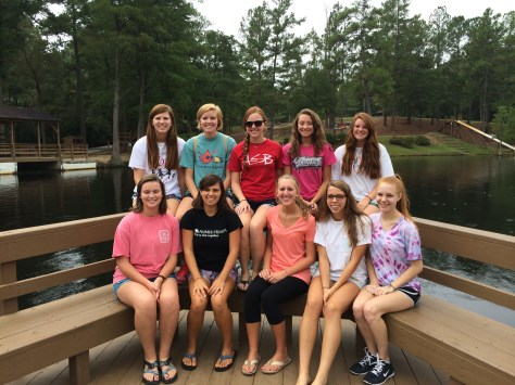 just a small fraction of the small group....notice the ginger to non-ginger ratio....
