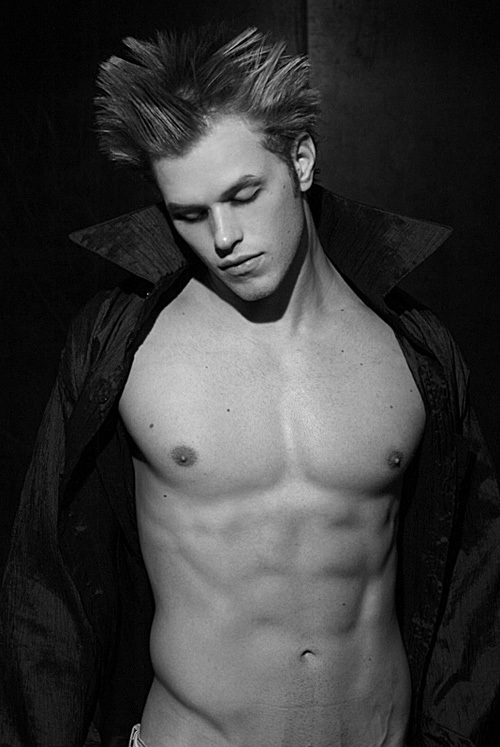 """In the beginning...God created Kellan. And he looked good"""""""