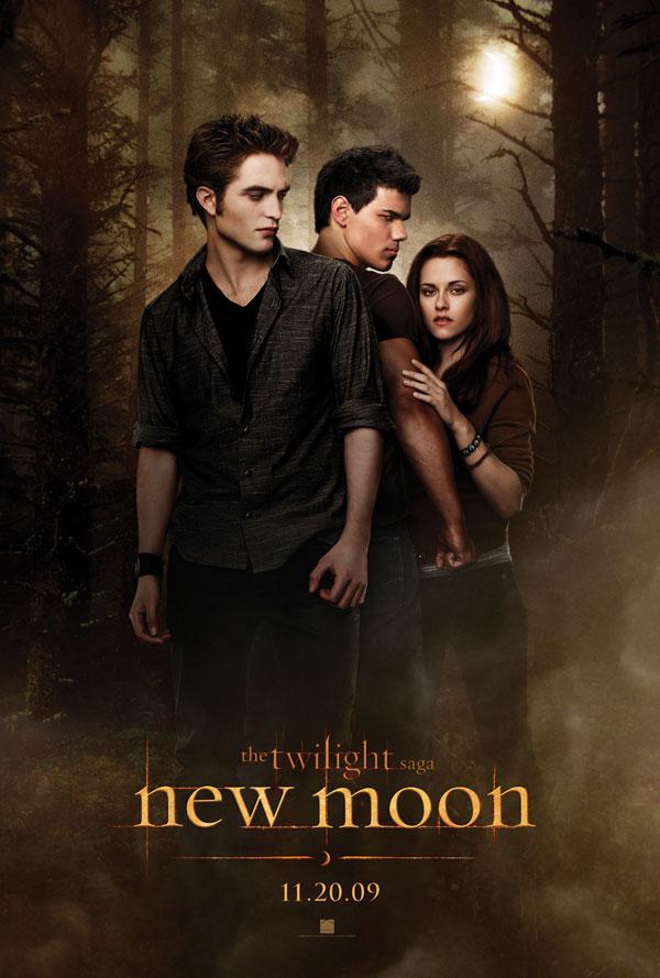 Twilight New Moon teaser movie poster