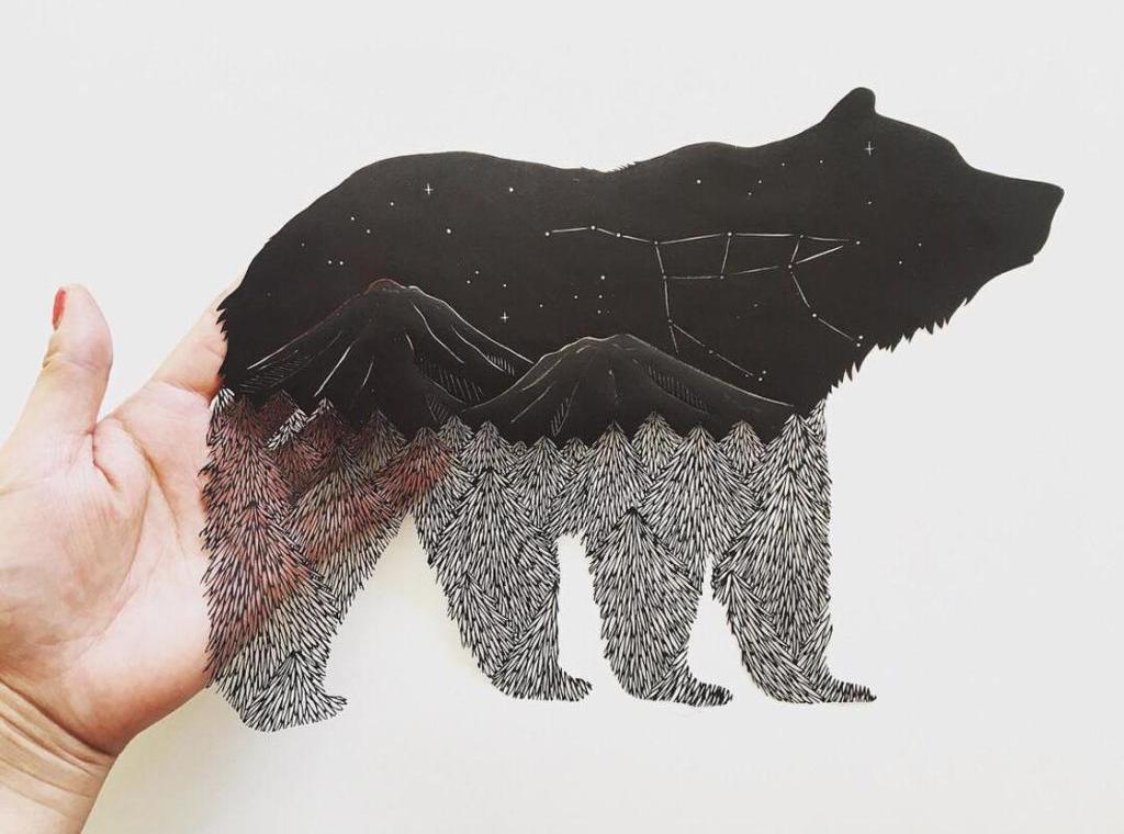 Les délicats découpages en papier de Kanako Abe