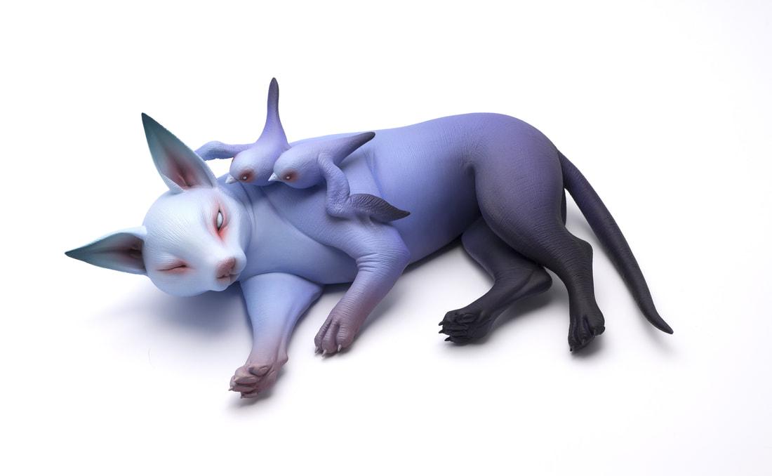 Les étranges et envoutante sculpture de Erika Sanada