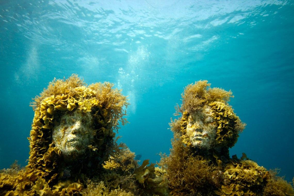 Les sculptures sous-marines de Jason deCaires Taylor