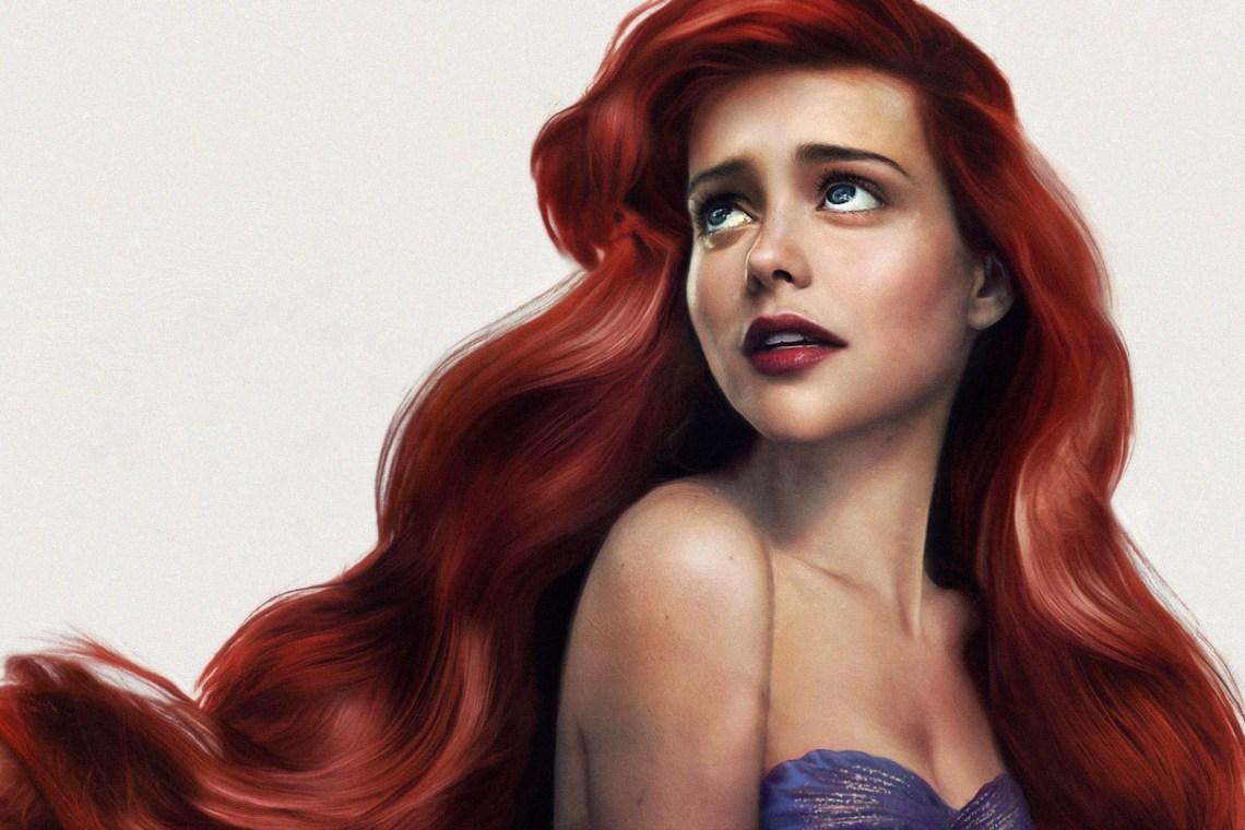 Les versions réalistes des princesses Disney par Jirka Vinse