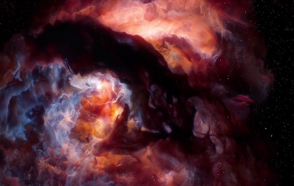 Les nébuleuses cosmiques de Teun van der Zalm