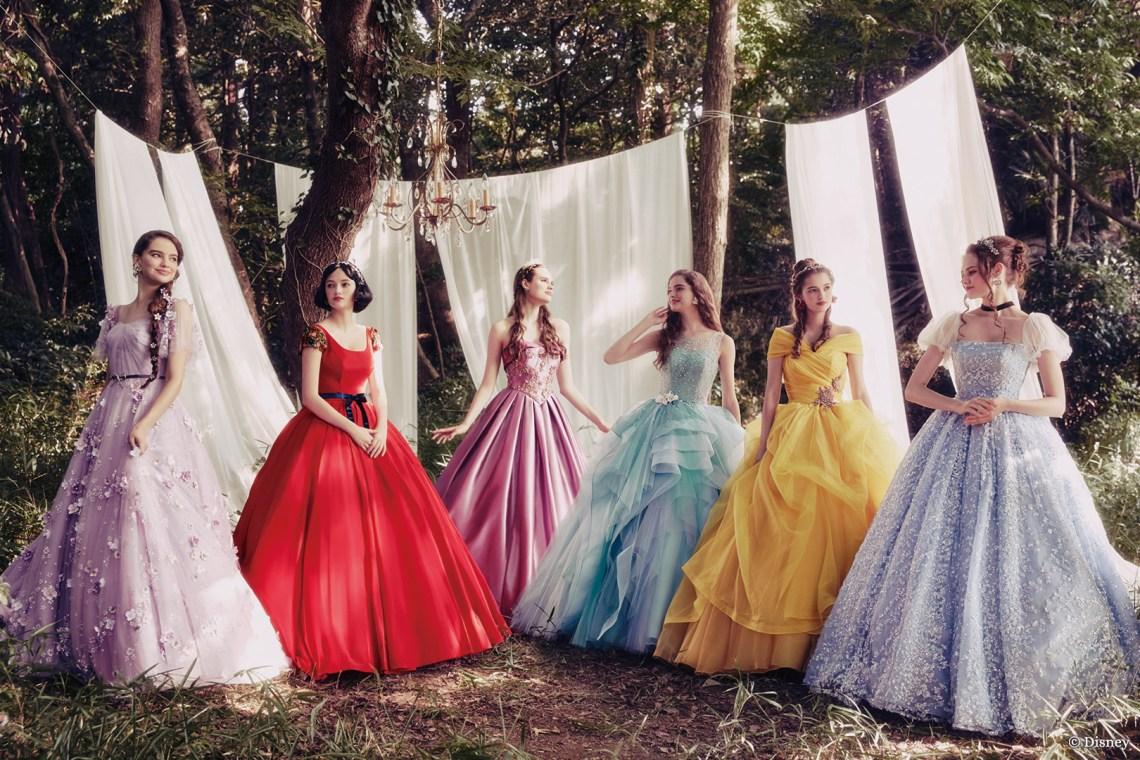 Les robes de mariées inspirées des princesses Disney de Kuraudia