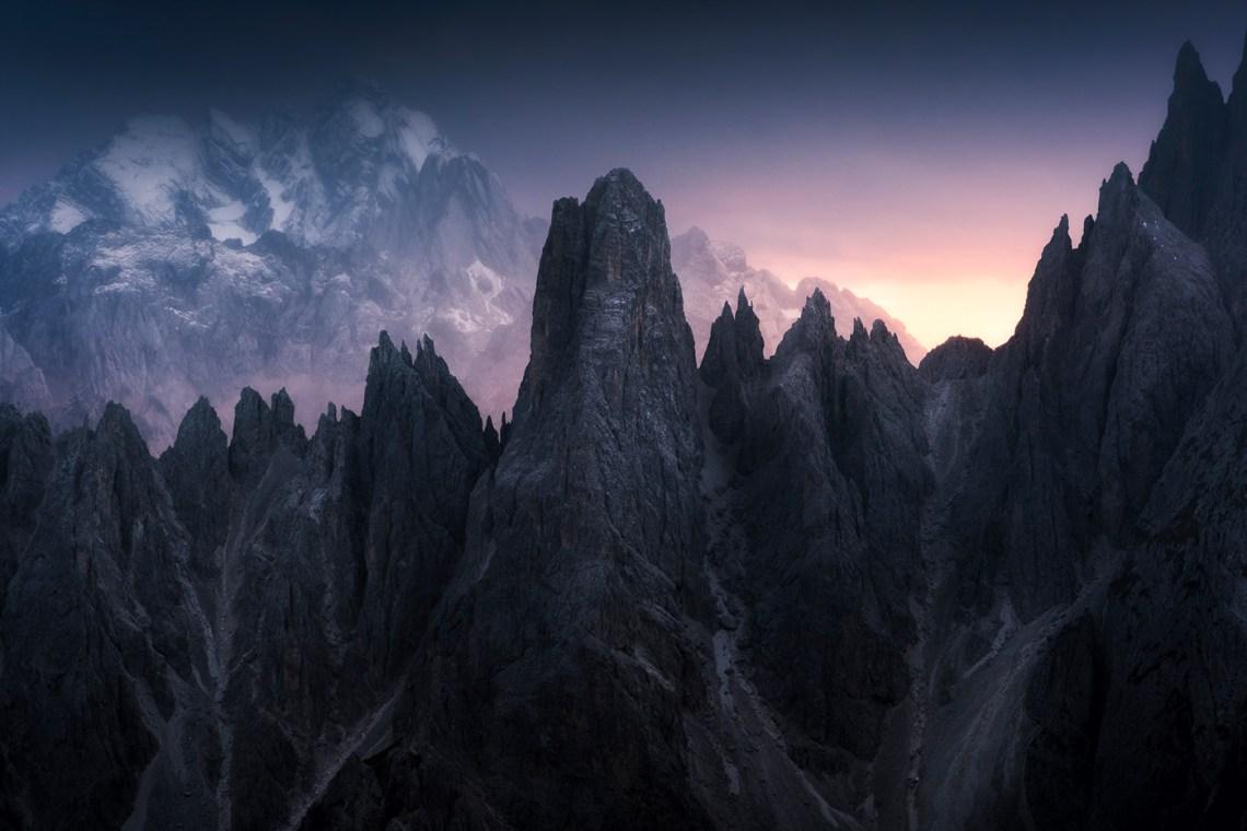 Les Montagnes sous l'oeil du photographe Aliaume Chapelle