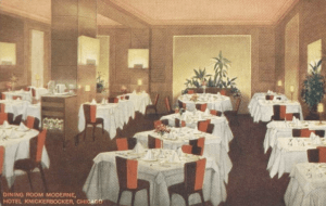Dining Room, Hotel Knickerbocker Chicago