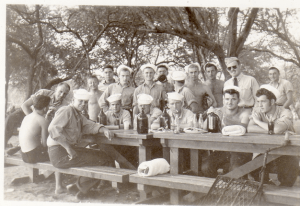 Pearl Harbor Barbeque, 1943
