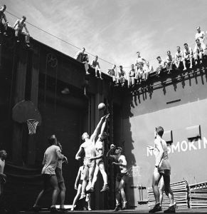 Troops Playing Basketball, 1944