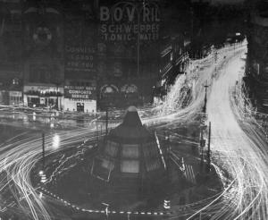War Time Blackout In London 1944