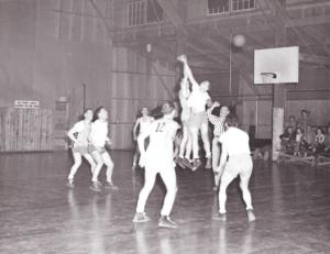Troop Basketball, WWII